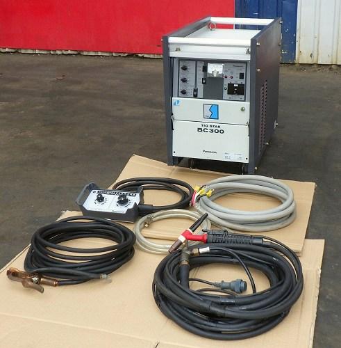 [高性能/パルス有] パナソニック TIG溶接機/インバータ制御直流TIG溶接機 高周波レスタイプ TIG STAR BC300/YC-300BC1 [単相 三相可/三相は300A]買取しました!
