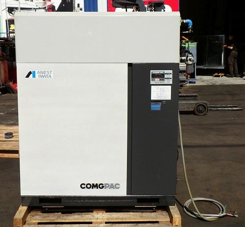 [大人気ドライヤー付/中圧] アネスト岩田 パッケージコンプレッサー/コンプレッサー 7.5馬力 COMGPAC CLD55B-14D 50Hz買取しました!