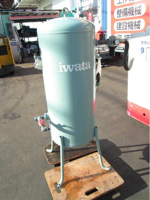 ANEST IWATA アネスト岩田 AIR RECEIVER SAT-120-140 縦型 120L エアータンク 空気タンク 補助 予備 �A買取しました!
