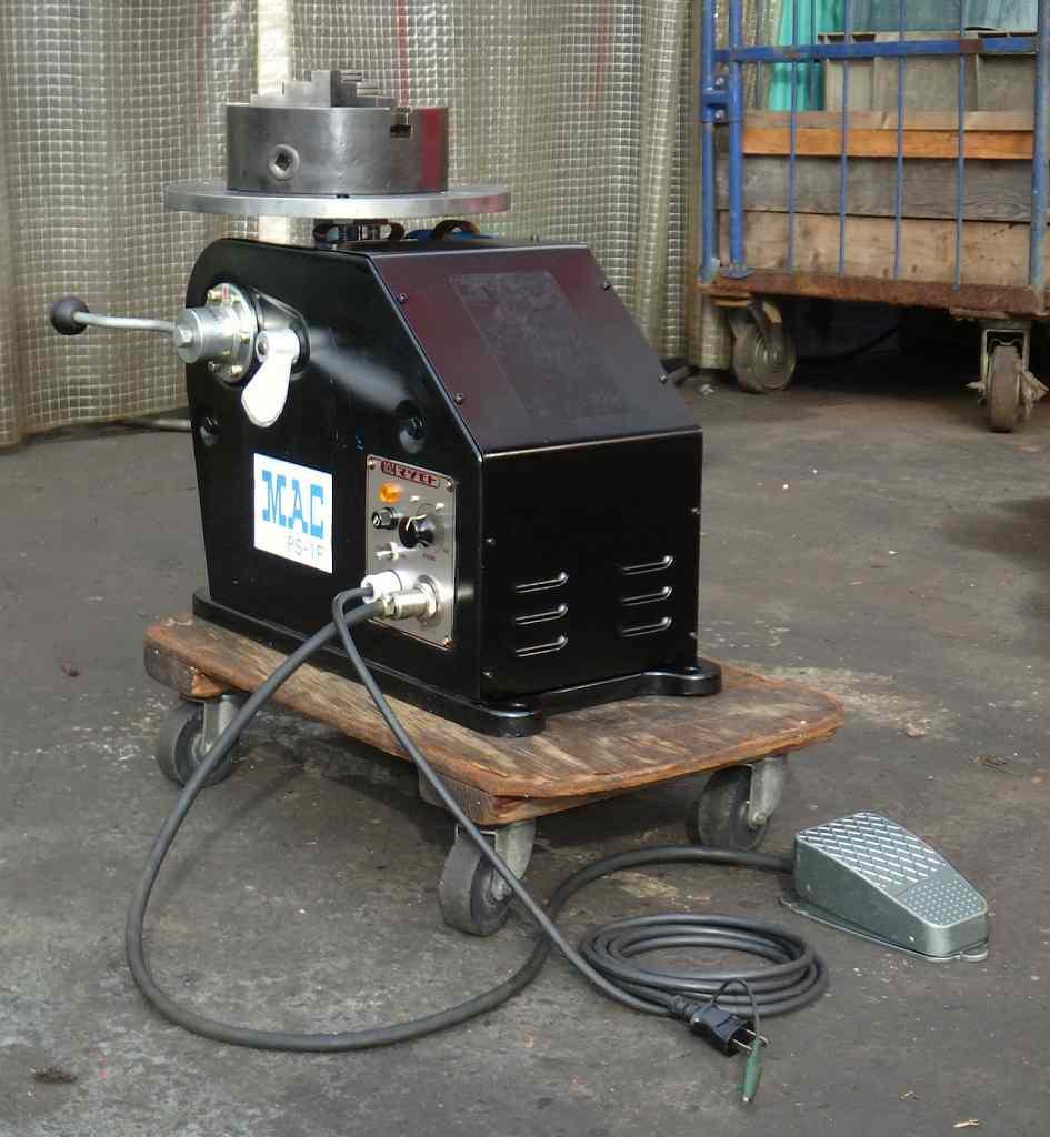 [100V/スピード調整自在] 小型ポジショナー/回転冶具/ポジショナー 溶接 MAC/松本/マツモト PS-1F-L/PS1FL買取しました!