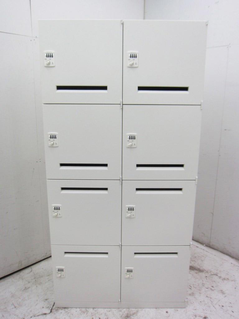 オカムラ  レクトラインシリーズ 8人用メールロッカー 買取しました!