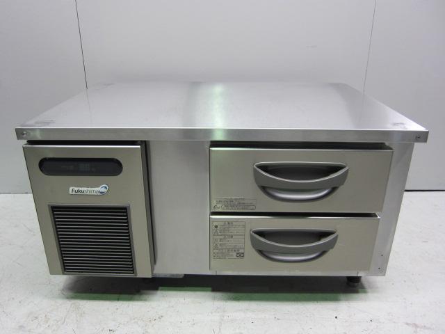フクシマ工業 ドロワー式冷蔵コールドテーブル買取しました!