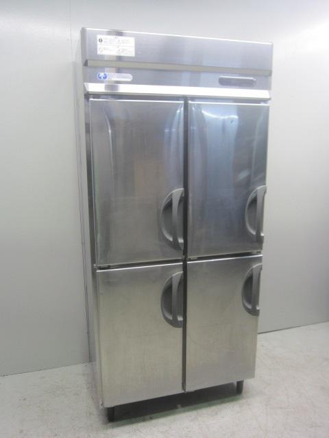 フクシマ工業 業務用タテ型冷凍冷蔵庫買取しました!