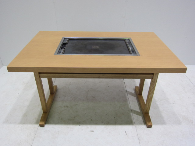 ● お好み焼きテーブル(4人用)�@買取しました!