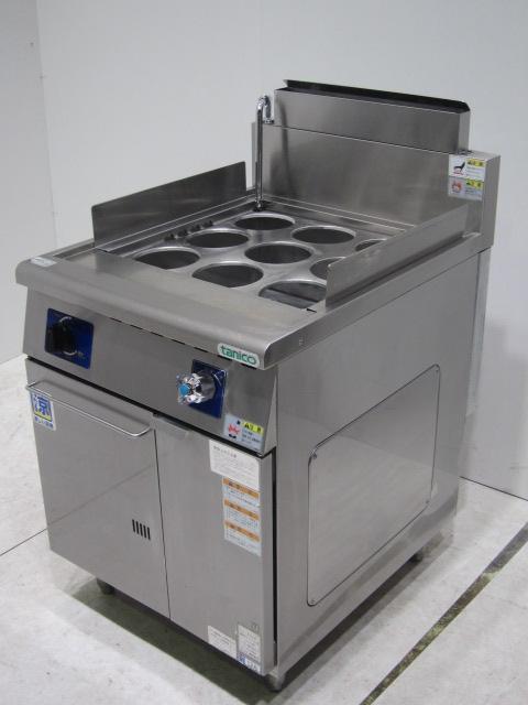 ●タニコー 業務用角槽型ゆで麺機槽(都市ガス用)買取しました!