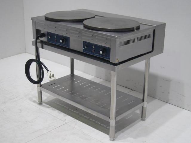 ●ニチワ電気 クレープ焼き器(架台付き)買取しました!