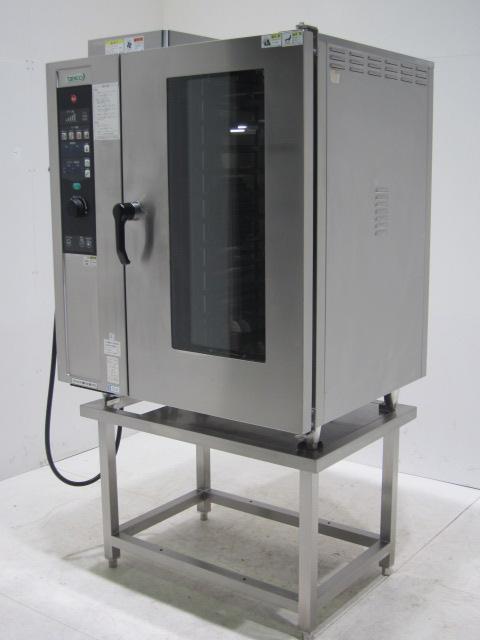 ●タニコー ガス式スチームコンベクションオーブン(架台付き)買取しました!