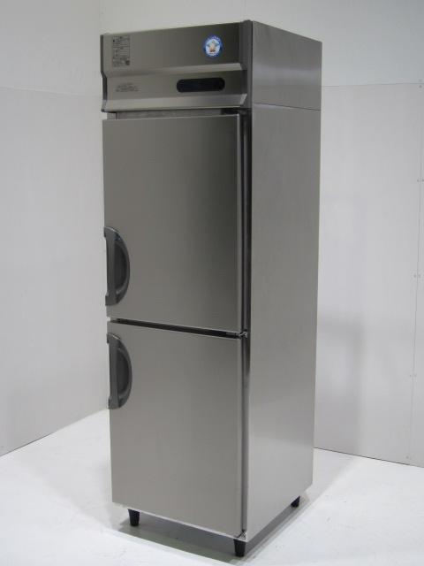 ●福島工業 業務用2ドア縦型冷凍冷蔵庫買取しました!