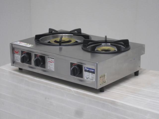 ●マルゼン ガス2口テーブルコンロ(プロパンガス用)買取しました!