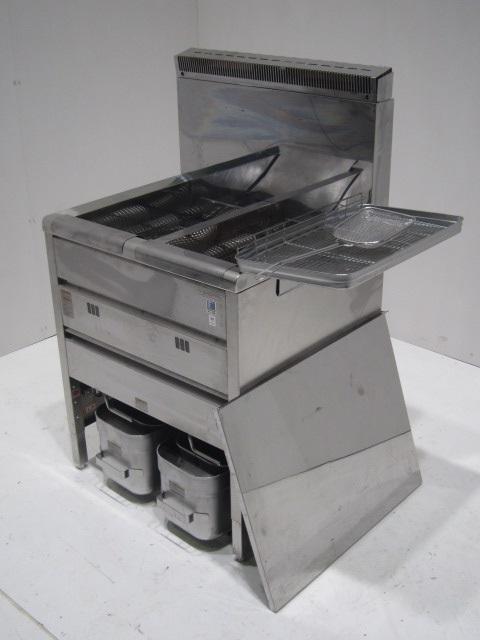●タニコー 業務用ガス式2槽フライヤー(プロパンガス)買取しました!