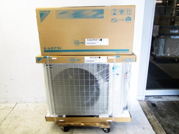 ダイキン 【新品】14畳用ルームエアコン S40UTRXP-W-SET (F40UTRXP/R40URXP)買取しました!