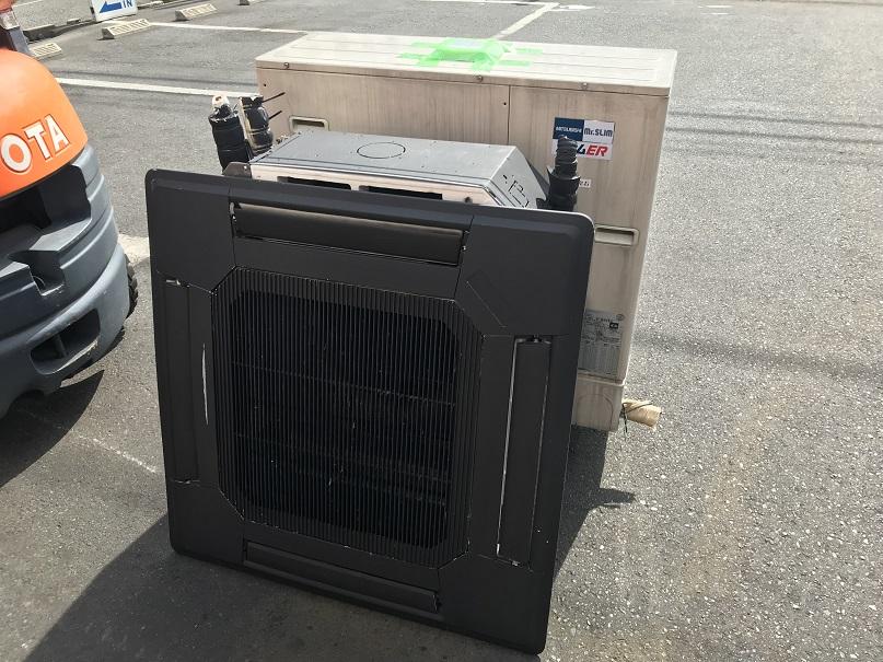 三菱電機 業務用3馬力天カセエアコン買取しました!