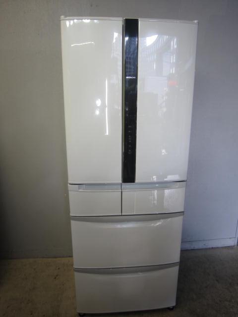 日立6ドア冷凍冷蔵庫 自動製氷・真空チルド付R-FR48M5