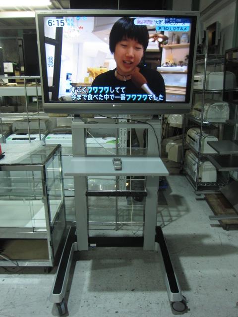 シャープ(AQUOS) 40インチ液晶テレビ(スタンド付き)買取しました!