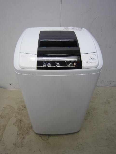 ハイアール5.0kg全自動洗濯機JW-K50K