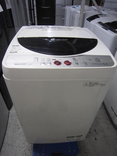 シャープ 5.5kg全自動洗濯機買取しました!