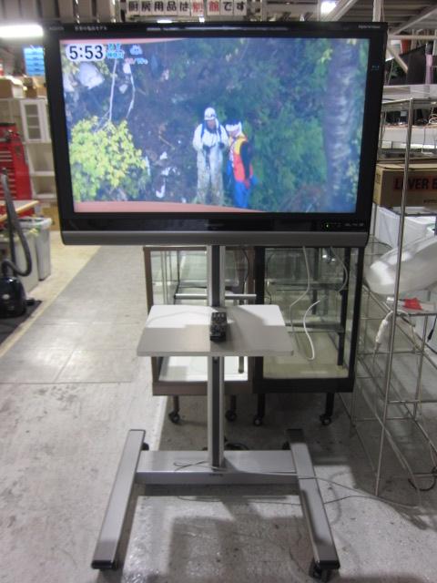 シャープ(AQUOS) 37インチ液晶テレビ(スタンド付き)買取しました!