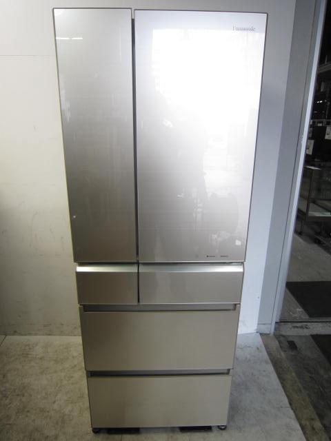 パナソニック 6ドア冷凍冷蔵庫 自動製氷付買取しました!