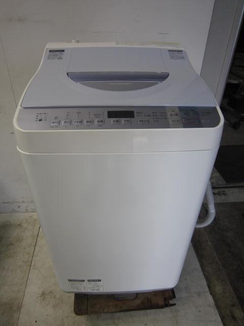 シャープ 5.5kg全自動洗濯乾燥機買取しました!