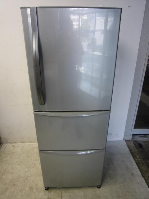 東芝 3ドア冷凍冷蔵庫買取しました!