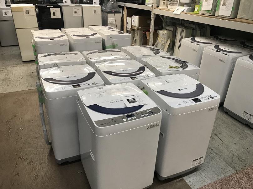 シャープ 5.5kg全自動電気洗濯機買取しました!