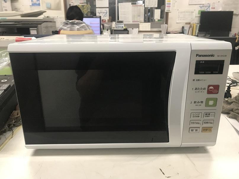 Panasonic 電子レンジ買取しました!