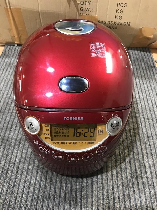 東芝電子炊飯器RC=6XJ