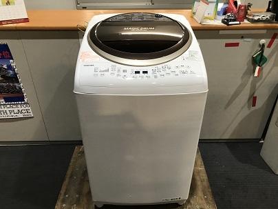 東芝 8kg全自動洗濯乾燥機機買取しました!
