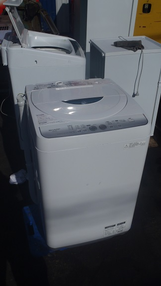 SHARP 全自動洗濯機 ES-FG45L KK買取しました!