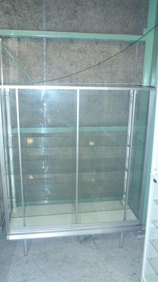 日本アルミ ガラスケース KK4買取しました!
