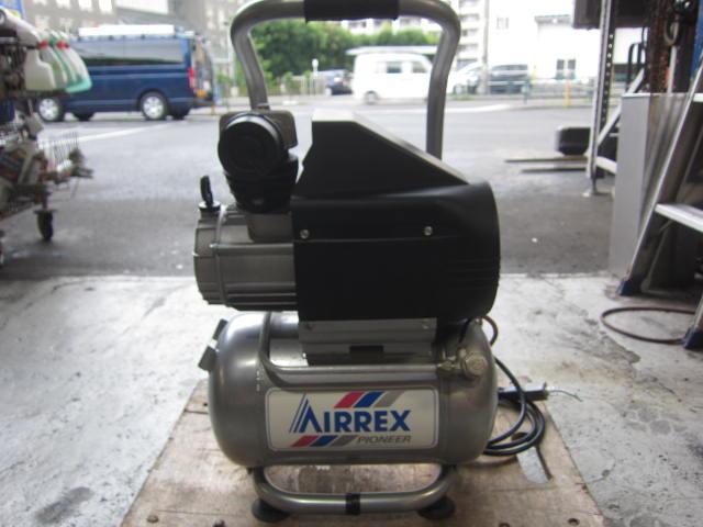 AIRREX AIRREX エアーコンプレッサー MK-100 コンプレッサー エアコンプレッサー 電動コンプレッサー コンプレッサ買取しました!