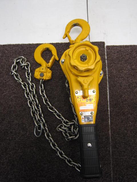 キトー KITO/キトー キトーレバーブロック レバーブロック L5A形 0.8t 0.8トン LB008買取しました!