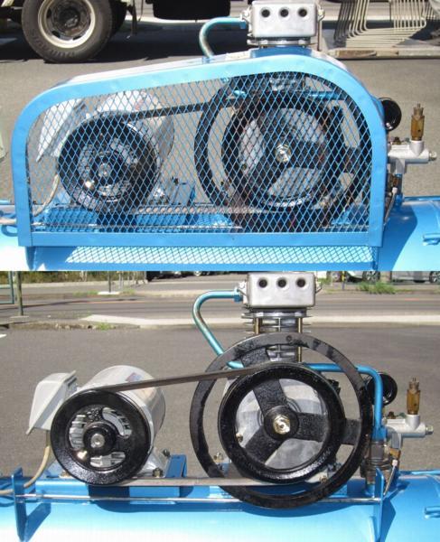 iwata/イワタ/アネスト岩田  [人気の岩田ブルー/200V/1馬力/大容量60L] エアコンプレッサー 恐らくSP-07PB買取しました!