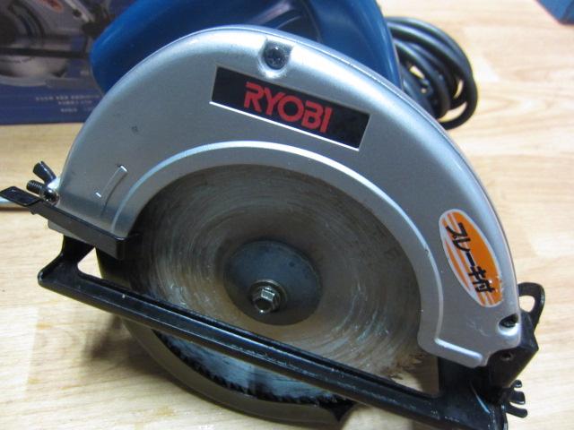 RYOBI リョービ 160mm 電気丸ノコ  ブレーキ付丸のこ 買取しました!