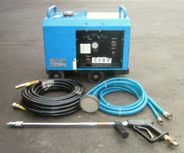 信頼のツルミ製 [ヤンマーエンジン/1272L/h] エンジン式高圧洗浄機/ハイプレッシャージェット 買取しました!