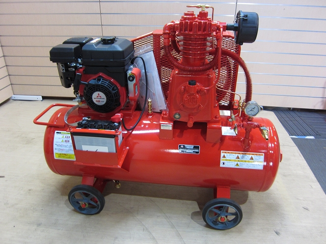 富士コンプレッサー製作所 小型往復空気圧縮機買取しました!