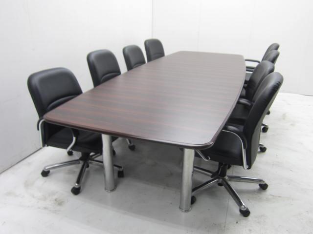 ウチダ 8人用会議テーブルセット買取しました!