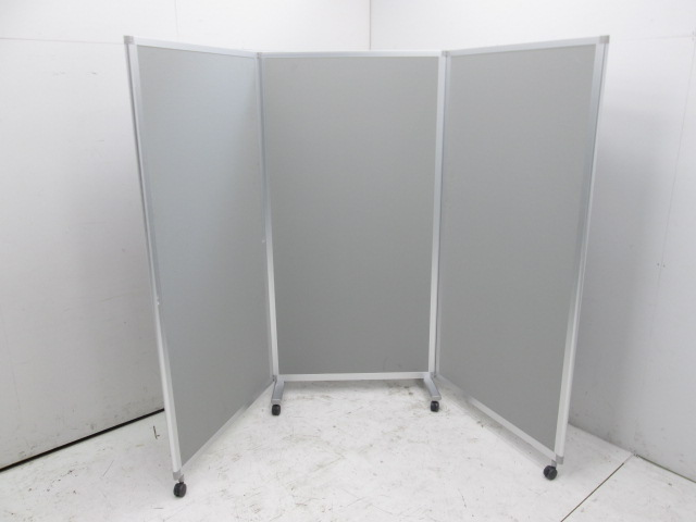 イトーキ スクリーンパネルKシリーズ 3連折畳パーテーション買取しました!