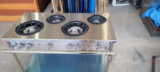 中古厨房機器入荷しました!ガステーブルです!