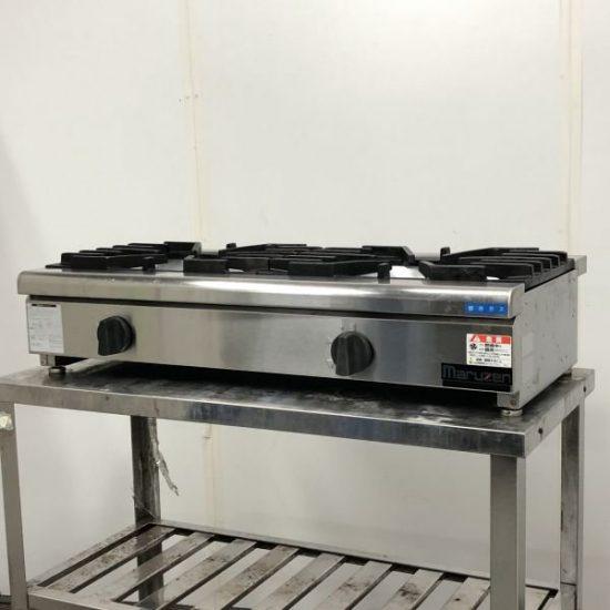 中古厨房機器入荷しました!卓上2口ガスコンロです!