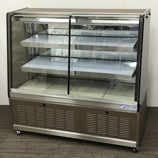 中古厨房機器入荷しました!対面冷蔵ショーケース(前扉タイプ)です!
