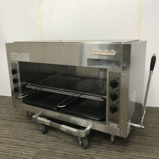 中古厨房機器入荷しました!ガス上火式グリラーです!
