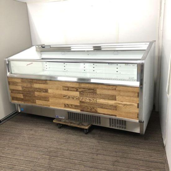 中古厨房機器入荷しました!平型オープン冷凍ショーケースです!