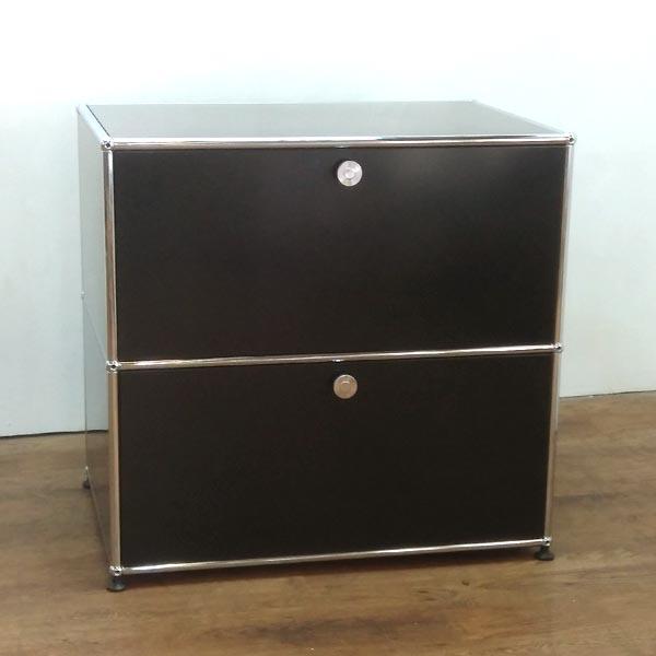 USM Modular Furniture 1列2段 ハラーシステム / ハラーキャビネット