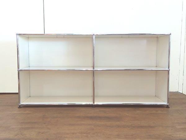 USM Modular Furniture 2列2段 ハラーシステム キャビネット