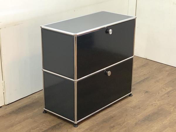 USM Modular Furniture 1列2段 ハラーシステム キャビネット