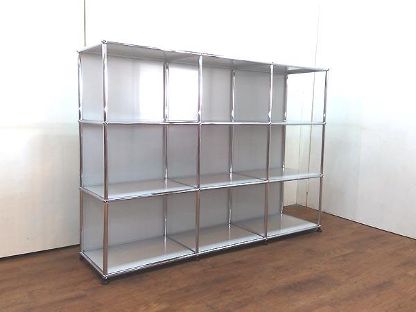 USM Modular Furniture 3列3段 ハラーシステム キャビネット