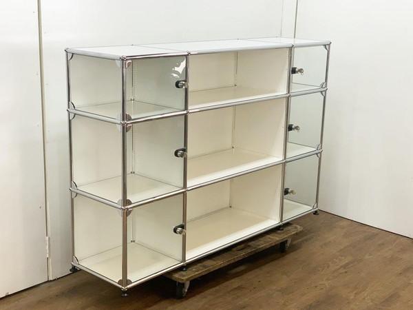 USM Modular Furniture 3列3段 ハラーシステム / ハラーキャビネット買取しました!