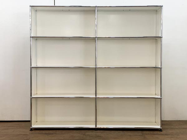 USM Modular Furniture 2列4段 ハラーシステム / ハラーキャビネット買取しました!