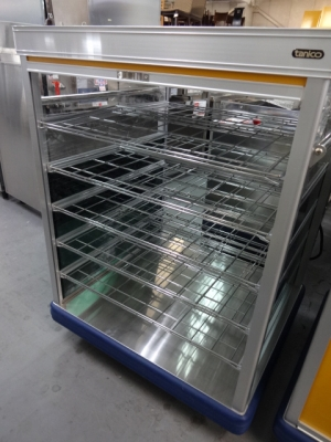 タニコー 配膳車・ロールカーテン付 TH46-2S